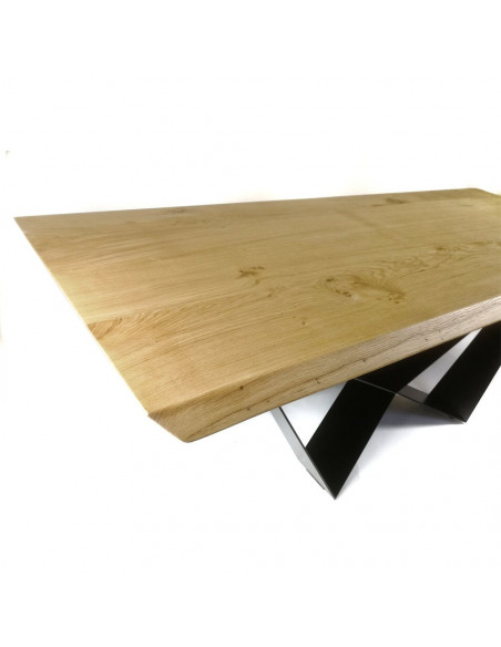 Araneo table, solid wood, European oak