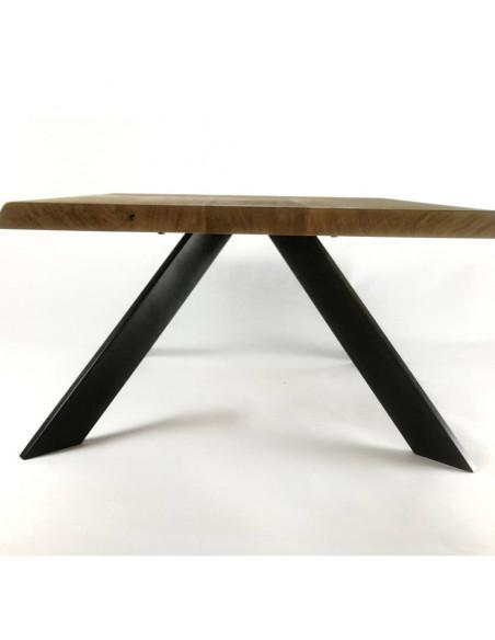 Stolik kawowy STELO, drewno lite, dąb europejski Fashion-Home