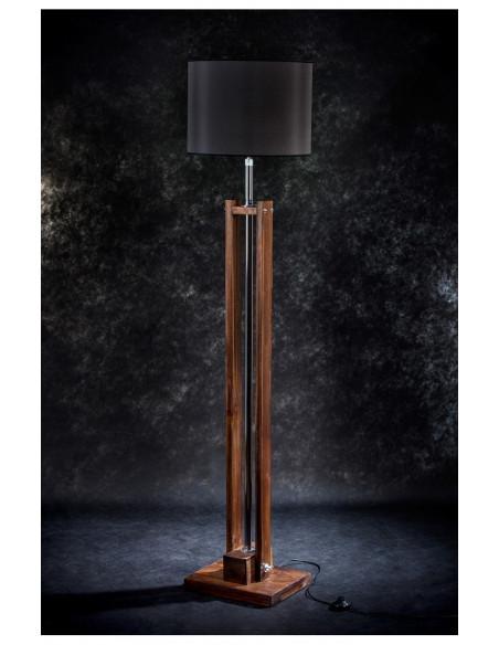 Drewniana lampa podłogowa TOWER, wys. 170 cm Fashion-Home