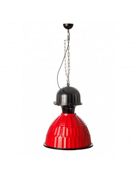 Lampa-wisząca-hak-+-łańcuch-czerwona-DUSTRY-Fashion-Home