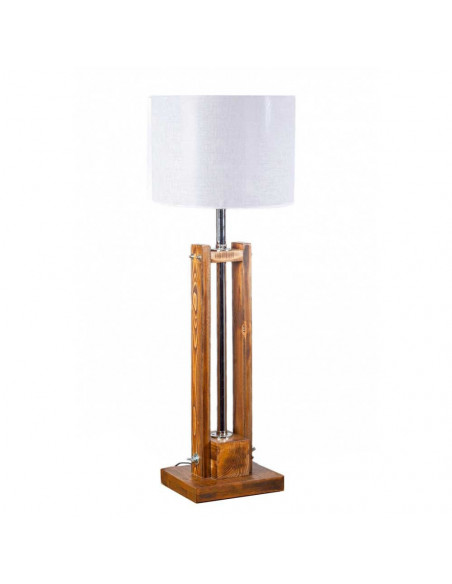 Lampa stołowa drewniana TOWER 100 cm Fashion-Home