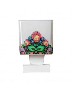 Lampka nocna FOLK 1A - szkło włoskie - ręczna dekoracja Fashion-Home