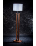 Wooden standing lamp TOWER  height 170 cm