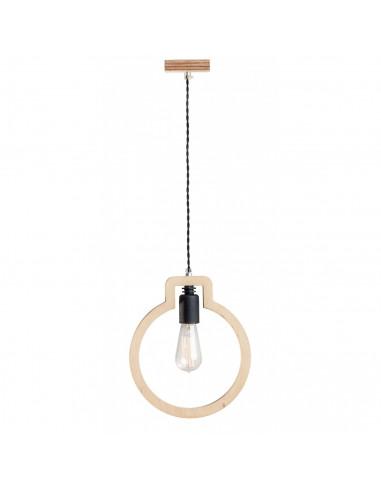 Lampa wisząca / sufitowa / drewniana BULB Fashion-Home