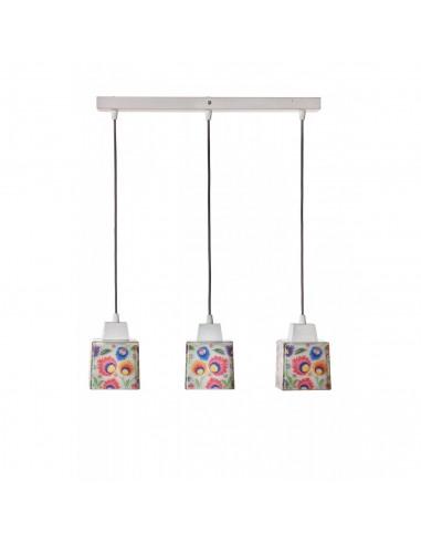 Lampa wisząca / sufitowa / FOLK 3B ręczna dekoracja Fashion-Home
