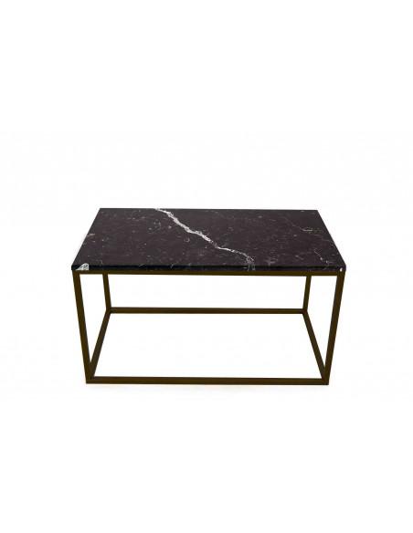 Stolik-Lisa-marmur-Czarny-grubość-2cm-podstawa-czarna-wymiary-90x50x50-Fashion-Home