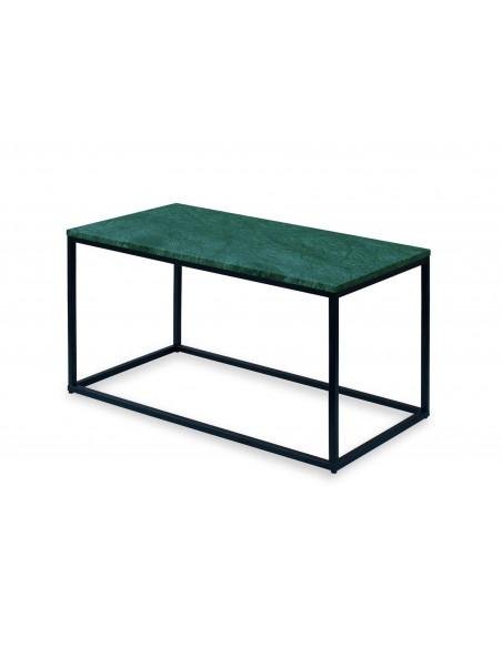 Stolik-Lisa-marmur-Zielony-grubość-2cm-podstawa-czarna-wymiary-90x50x50-Fashion-Home
