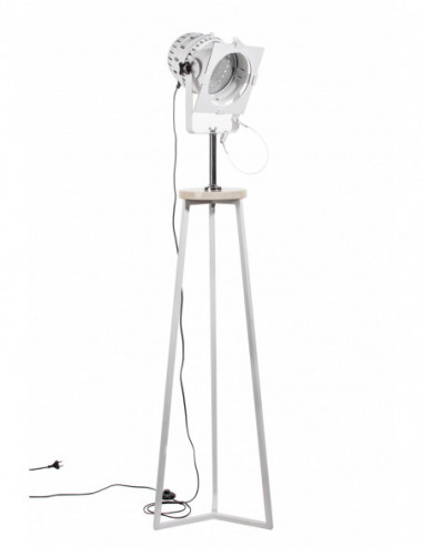 Lampa stojąca RAFI REFLEKTOR BIAŁY/MARMUR CREMA MARFIL Fashion-Home