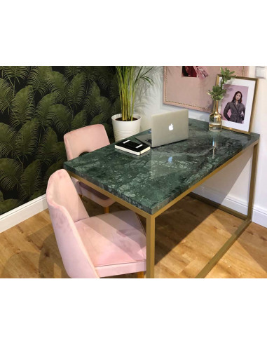 Desk IDURO natural marble top