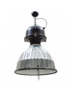 Lampa wisząca styl industrialny loft srebrna DUSTRY HAK - Fashion-Home