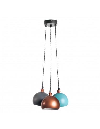 Lampa wisząca / sufitowa / FASHION 3L TRICOLOR/CZARNY Fashion-Home