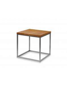 Stolik-kawowy-drewno-Qube-50x50x51-Dab-stal-lakierowana-3-cm-Fashion-Home