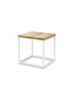 Stolik-kawowy-drewno-Qube-50x50x51-Jesion-bialy-3-cm-Fashion-Home
