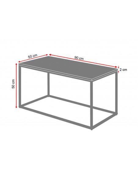 Dimensioning-2cm-coffee-table-marble-Lisa-90x50x50-Fashion-Home