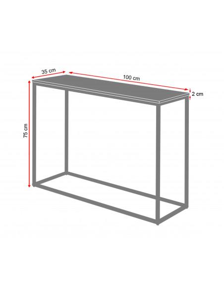 Wymiarowanie-2cm-Konsola-marmur-Sara-100x35x75-Fashion-Home