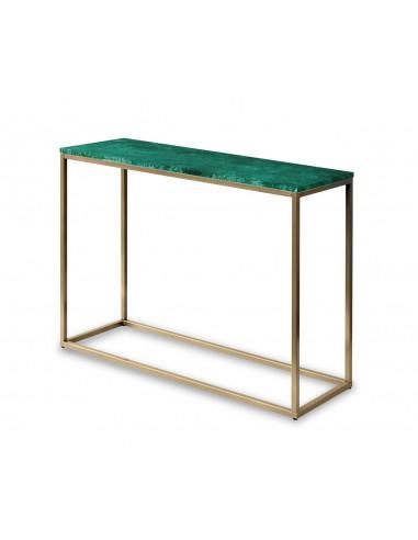 Konsola-marmur-Sara-100x35x75-Verde-zlota-perla-2-cm-Fashion-Home