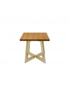 Stolik-kawowy-drewno-Amand-S-50x50-48-Dab-zlota-perla-3-cm-Fashion-Home-Front