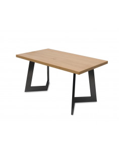 Stolik-kawowy-drewno-Amand-L-90x50x48-Dab-czarny-3-cm-Fashion-Home-Skos