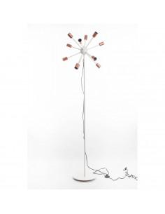 Floor lamp RAYS 12 PKT, 190 cm Beige base + Cooper