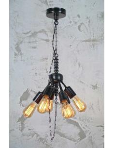 Lampa wisząca WIKI 6 PKT industrialna Fashion-Home