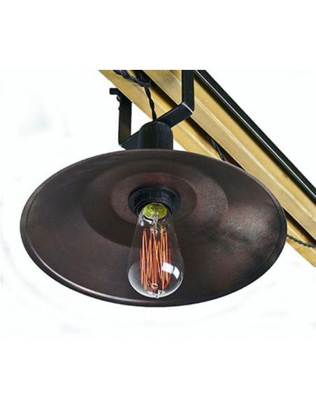 Lampa wisząca FRANK industrialna duża Fashion-Home