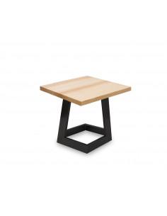 Stolik-kawowy-drewno-Namad-S-50x50-48-Jesion-czarny-3-cm-Fashion-Home-Bok