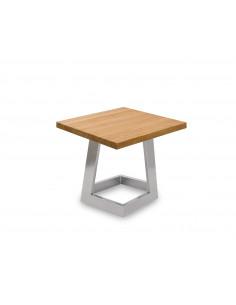 Stolik-kawowy-drewno-Namad-S-50x50-48-Dab-kolor-chrom-3-cm-FH-B