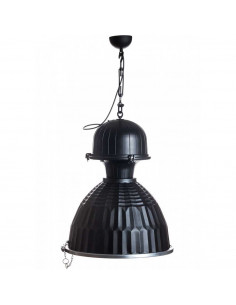 Pendant lamp DUSTRY ŚRUBA BLACK&SILVER Loft lamp
