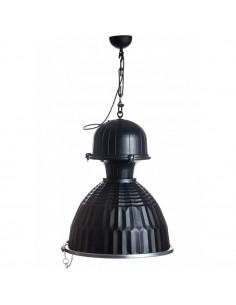 Lampa wisząca na śrubie rzymskiej loft czarna DUSTRY - Fashion-Home