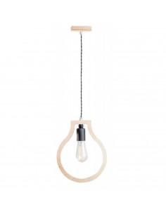Lampka wisząca sufitowa BLOBI 1L sklejka kolor naturalny Fashion-Home