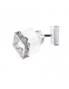 Kinkiet DECOR SCANDIA szkło włoskie ręczna dekoracja - Fashion-Home