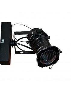 Kinkiet DRACO Reflektor 1 pkt czarny styl industrialny - Fashion-Home