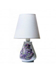 Bedside / table / lamp DROP WHITE ceramic