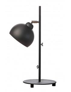 Lamka biurkowa FASHION czarna kula styl nowoczesny - Fashion-Home