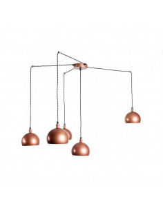 Pendant lamp spider FASHION 5NP Cooper/Cooper