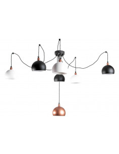 Pendant lamp spider FASHION 7LP