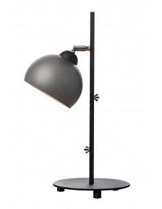 Lamka biurkowa FASHION szara perłowa kula styl nowoczesny-Fashion-Home