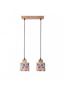Lampa wisząca / sufitowa / FOLK 2B ręczna dekoracja Fashion-Home