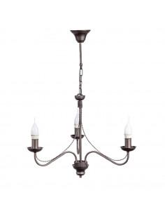 Provencal chandelier GIULIA 3 WENGE