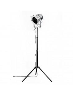 Industrial floor lamp REFLEKTOR on tripod