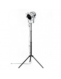 Industrial floor lamp on tripod 1-light point