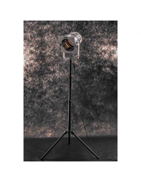 Lampa podłogowa indsutrialna na statywie 1-punktowa - Fashion-Home(1)