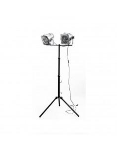 Lampa podłogowa indsutrialna na statywie 2-punktowa - Fashion-Home