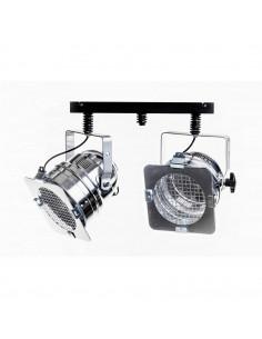 Plafon industrialny REFLEKTOR L2-56  klosz srebrny -Fashion-Home