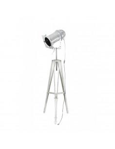 Lampa stojąca indsutrialna REFLEKTOR D podstawa sonoma -Fashion-Home