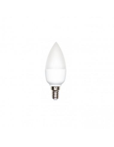 Żarówka LED E14 6W świecowa barwa zimna - Fashion-Home