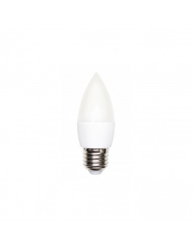 LED bulb  E27 6W candle cold colour