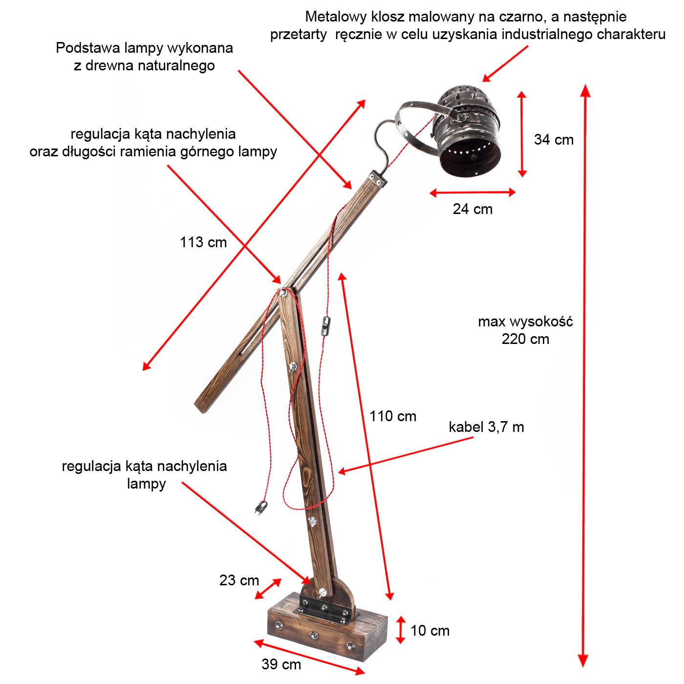 Lampa podłogowa industrialna WOODEN GRU  abażur reflektor - FH wymiarowanie_1.jpg