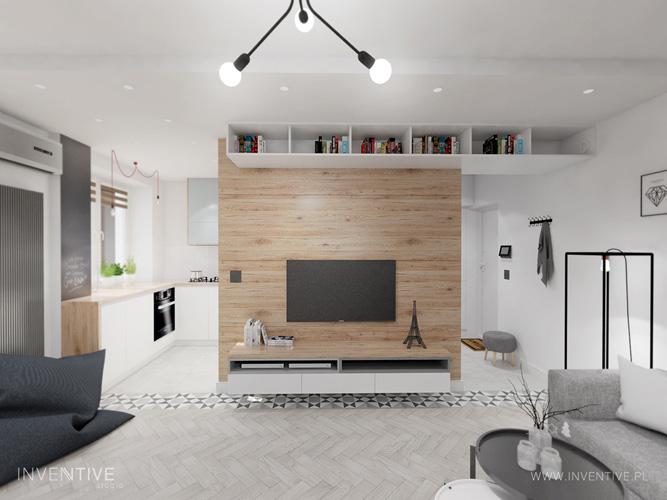 pomysł na mały salon - INVENTIVE studio
