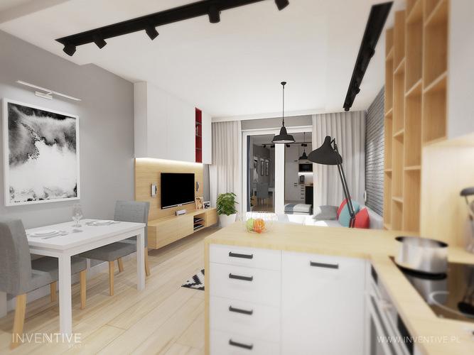 mały salon - 2 - INVENTIVE studio
